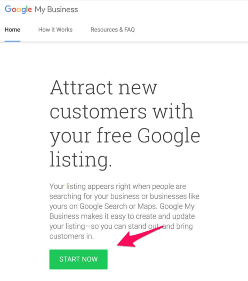 Đăng kí Google My Business để hỗ trợ SEO từ khóa lên top Google