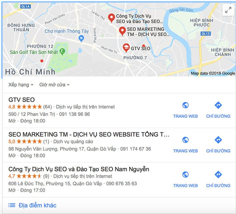 Tối ưu hóa hiển thị Local Map