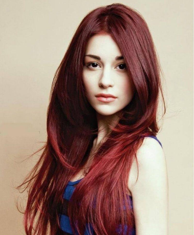 Màu tóc này là sự pha trộn nâu và đỏ với tỷ lệ tầm 25%