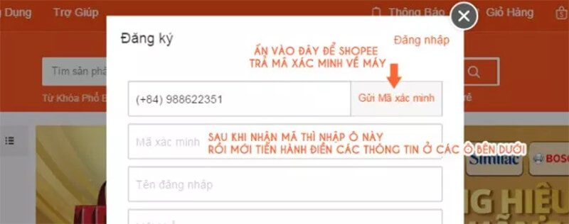 Bạn cũng có thể dùng tên đăng nhập mà bạn sửa hoặc email liên kết để đăng nhập.