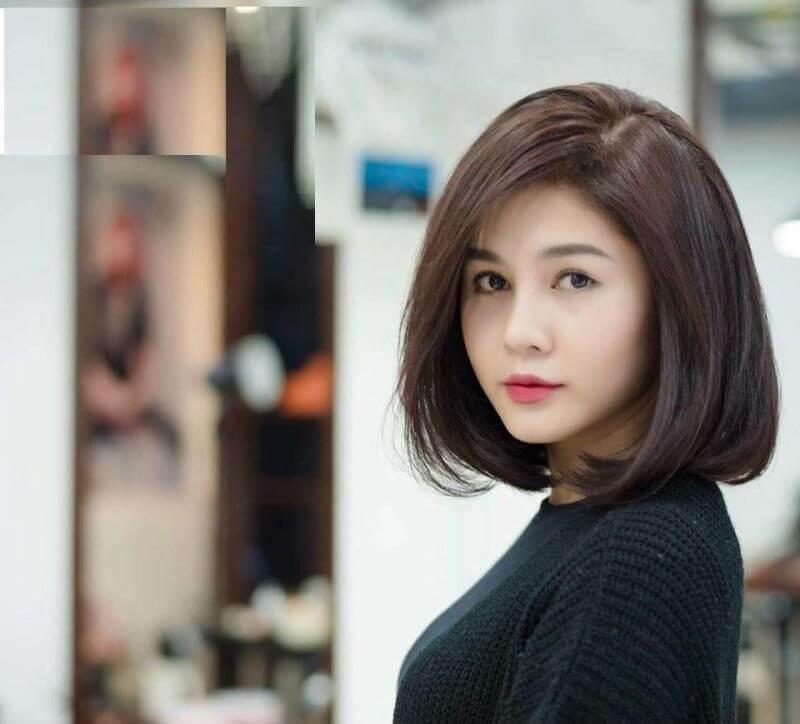 Dù tình trạng tóc bạn ngắn, dài hay ngang vai cũng đều có thể áp dụng kiểu tóc cụp đuôi