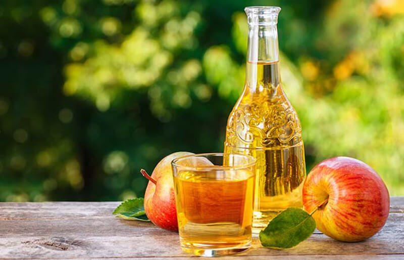 Sử dụng Giấm táo
